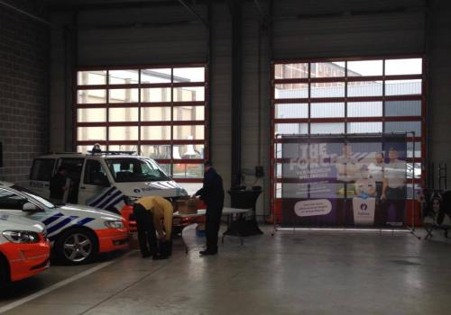 The Force bij de brandweer van Willebroek